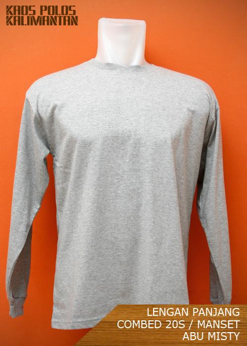 Kaos Polos Lengan Panjang Manset Shirt Distro Terbaik